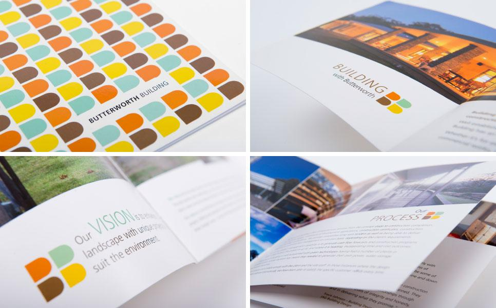 Butterworth Building brochure design