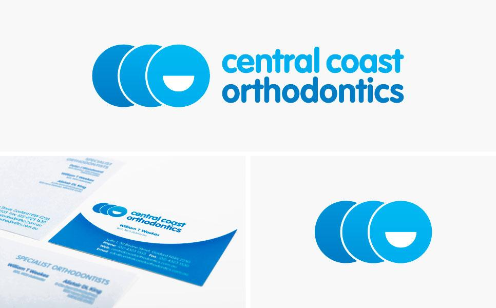 Central Coast Orthodontics logo design