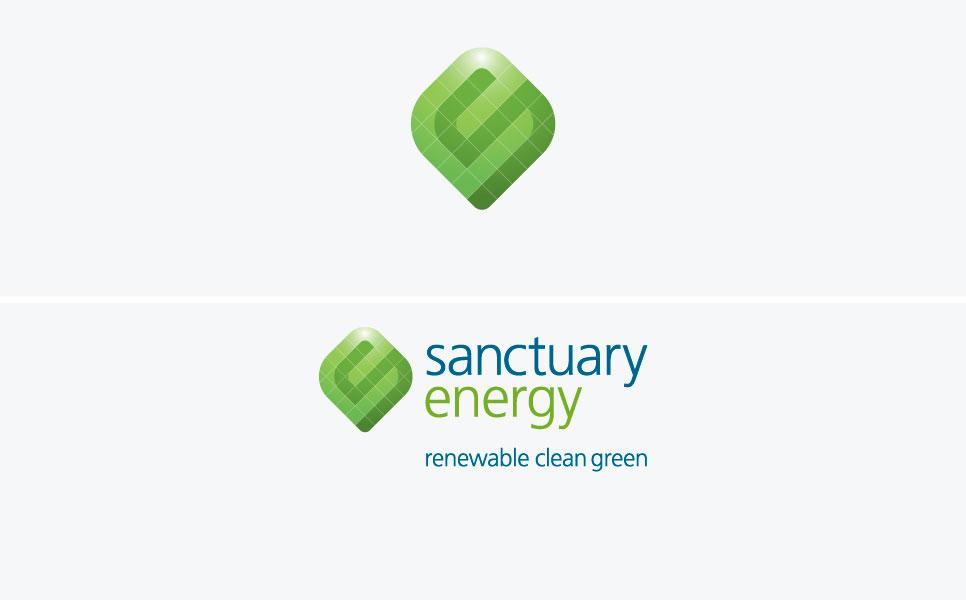 Sanctuary Energy logo design
