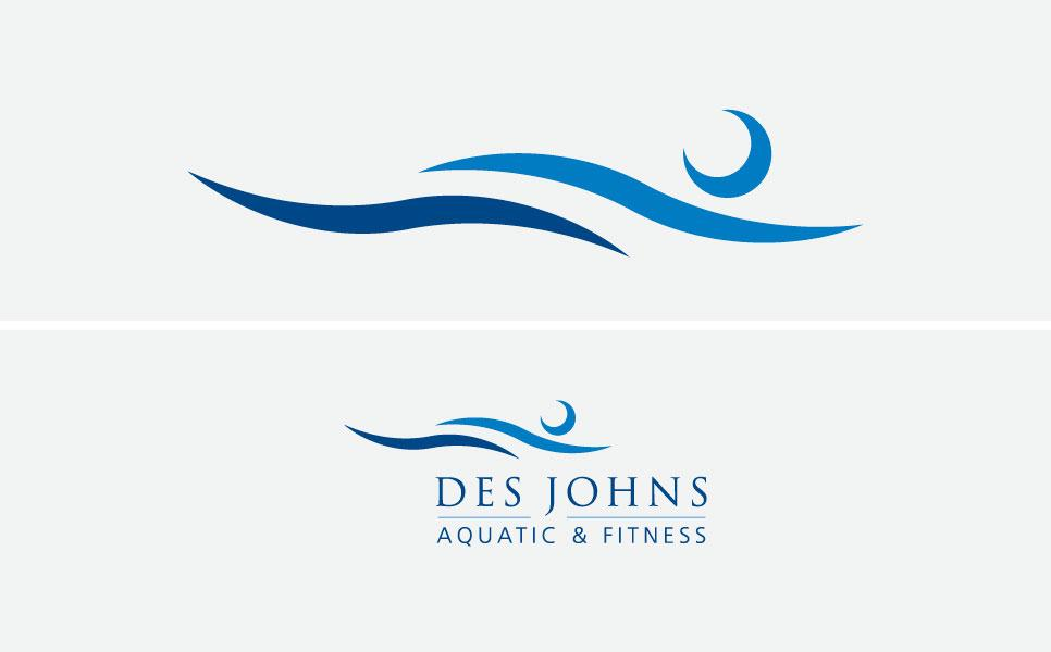 Des Johns logo design