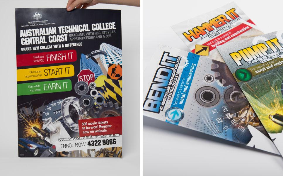 Advertising campaign for the Australian Technical College Central Coast