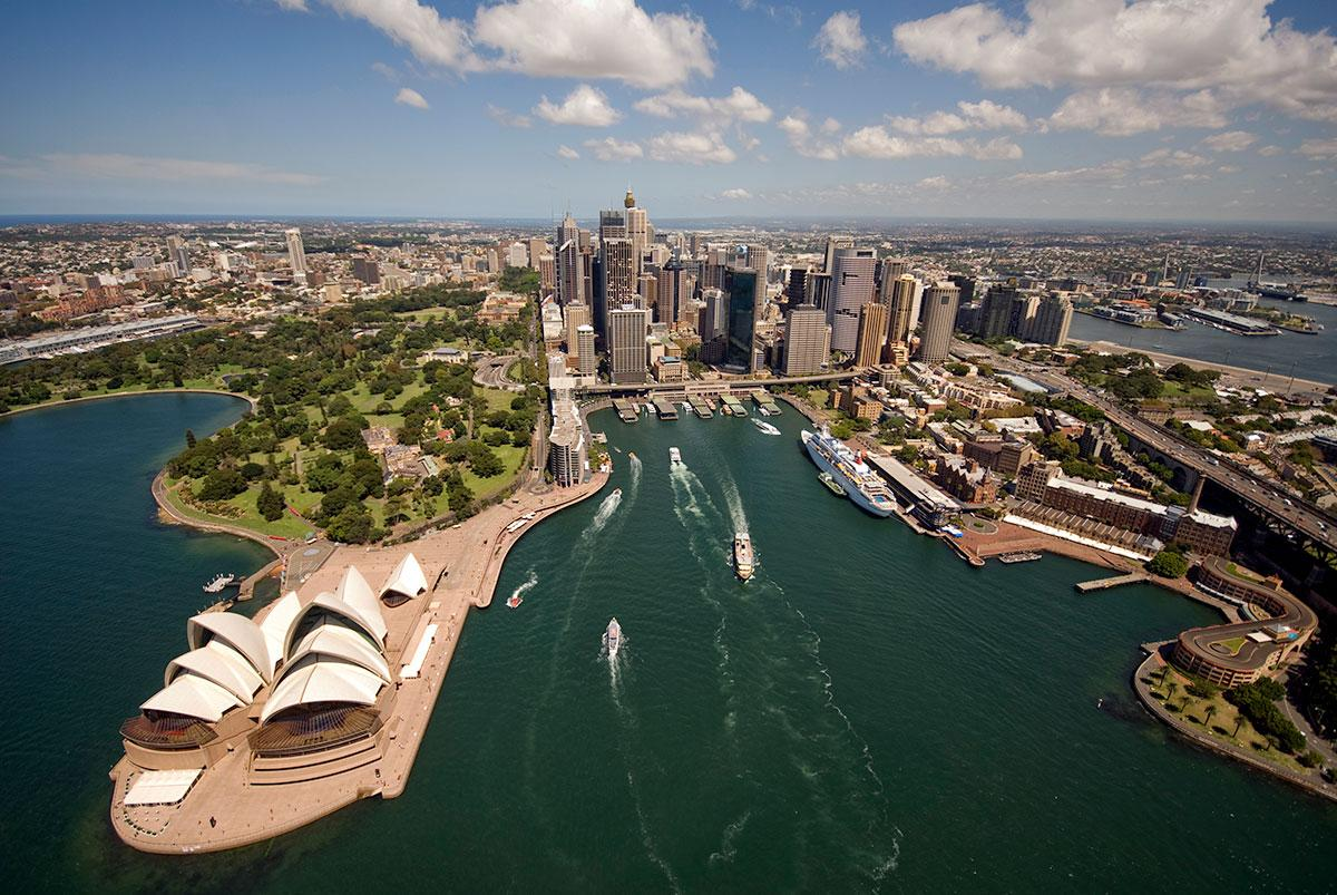Sydney Harbour Quay – Aerial Photography